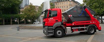Containerdienst: Abfallcontainer mieten in Frankfurt am Main | MDW: Muldendienst West
